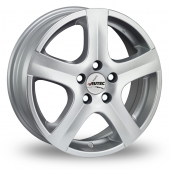 Autec Nordic Silver Alloy Wheels