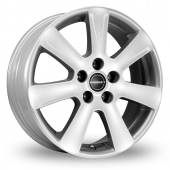Borbet CA Silver Alloy Wheels