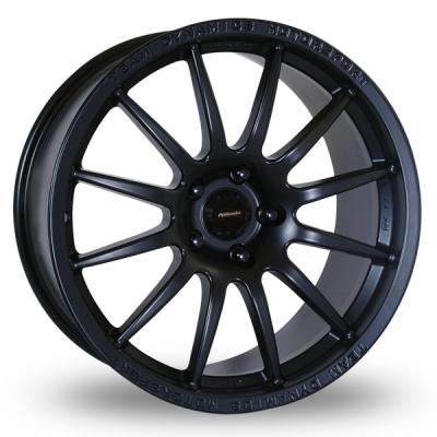 16 Inch Team Dynamics Pro Race 1 2 Matt Black Alloy Wheels
