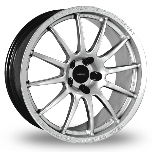 17 Inch Team Dynamics Pro Race 1 2 Silver Alloy Wheels