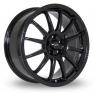13 Inch Team Dynamics Pro Race 1 2 Black Alloy Wheels