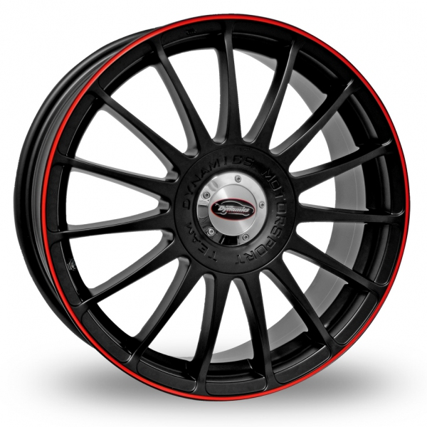 "Picture of 15"" Team Dynamics Monza RS Black/Red"