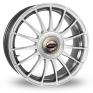 15 Inch Team Dynamics Monza R Hi Power Silver Alloy Wheels