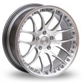 Breyton Race GTP Hyper Silver Alloy Wheels