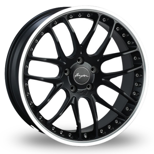 Breyton Race GTP 5x120 Wider Rear Black Polished