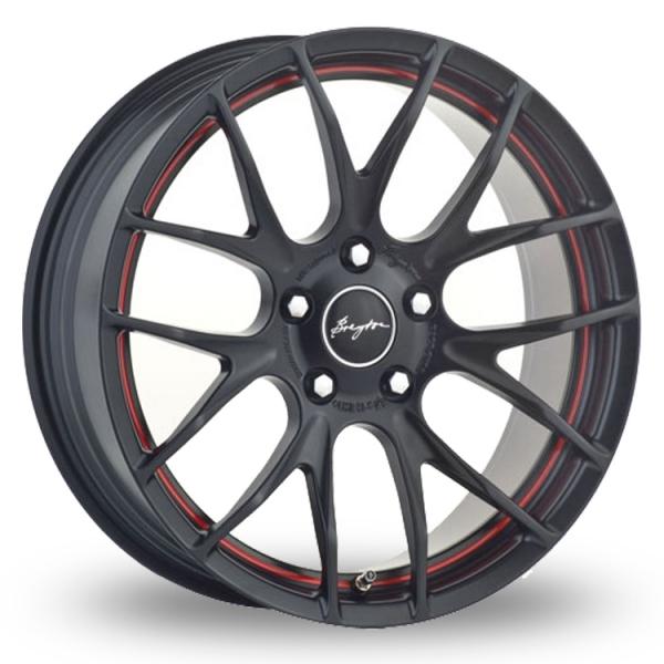 "Picture of 18"" Breyton Race GTS-R Matt Black/Red"