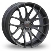Breyton Race GTS-R 5x120 Wider Rear Black Alloy Wheels