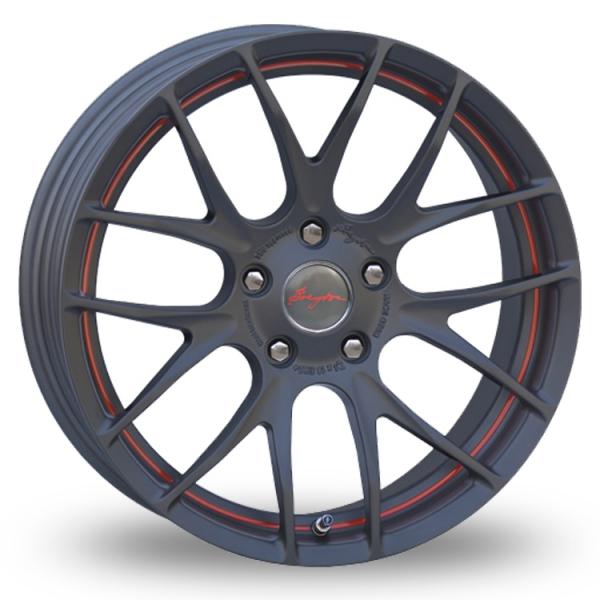 Breyton Race GTS-R 5x120 Wider Rear Gun Metal Red