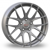 Breyton Race GTS-R 5x120 Wider Rear Gun Metal Alloy Wheels