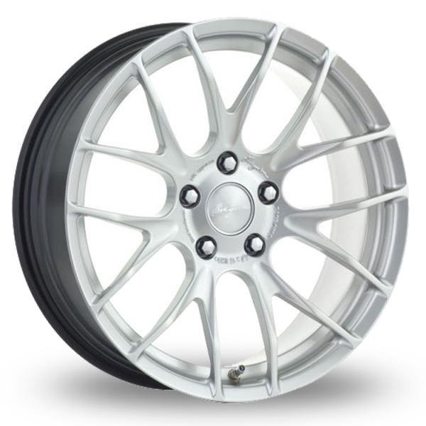 Breyton Race GTS-R 5x120 Wider Rear Hyper Silver