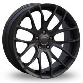 Breyton Race GTS 5x120 Wider Rear Black Alloy Wheels