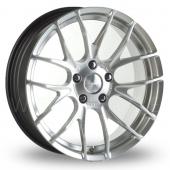 Breyton Race GTS 5x120 Wider Rear Hyper Silver Alloy Wheels