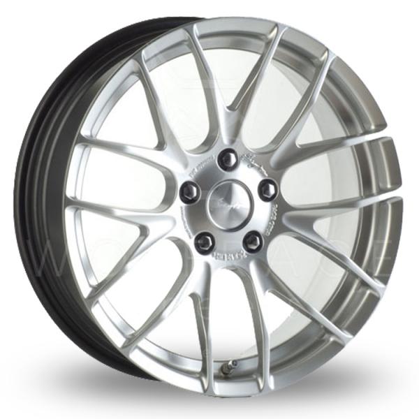 Breyton Race GTS 5x120 Wider Rear Hyper Silver