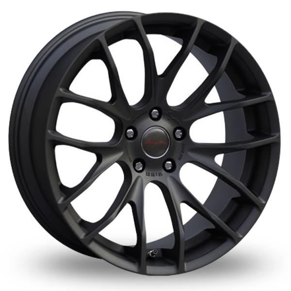 Breyton Race GTS 5x120 Wider Rear Matt Black
