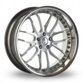 Breyton Race GTR Hyper Silver Alloy Wheels
