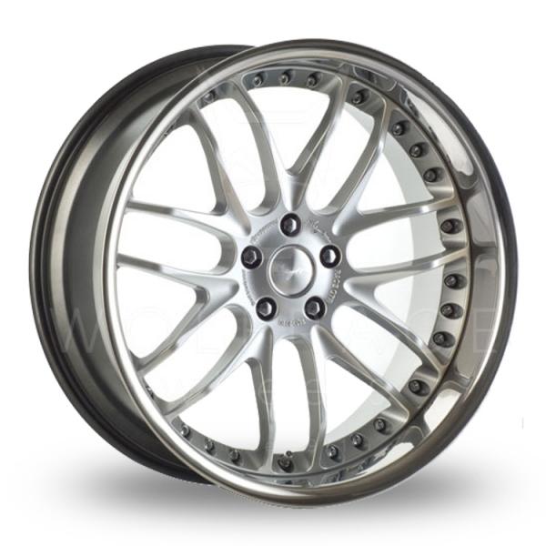Breyton Race GTR 5x120 Wider Rear Hyper Silver