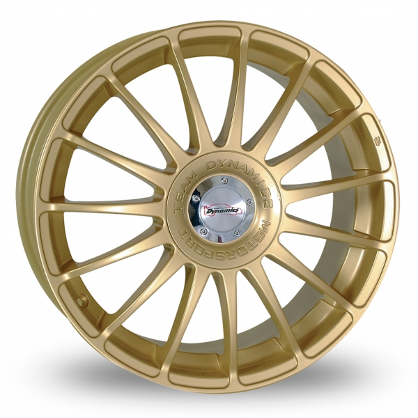 "Picture of 16"" Team Dynamics Monza R Gold"