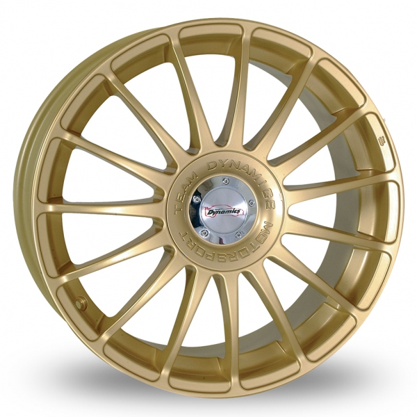"Picture of 17"" Team Dynamics Monza R Gold"
