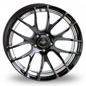 Breyton Race GTSR-M 5x120 Wider Rear Black Polished Alloy Wheels
