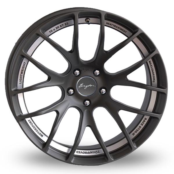 Breyton Race GTS-R 5x120 Wider Rear Black Polished