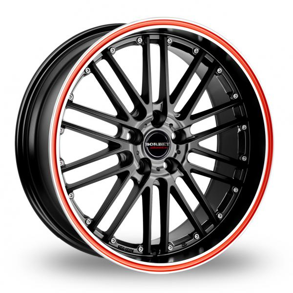 Borbet CW2 R (Special Offer) Black Red