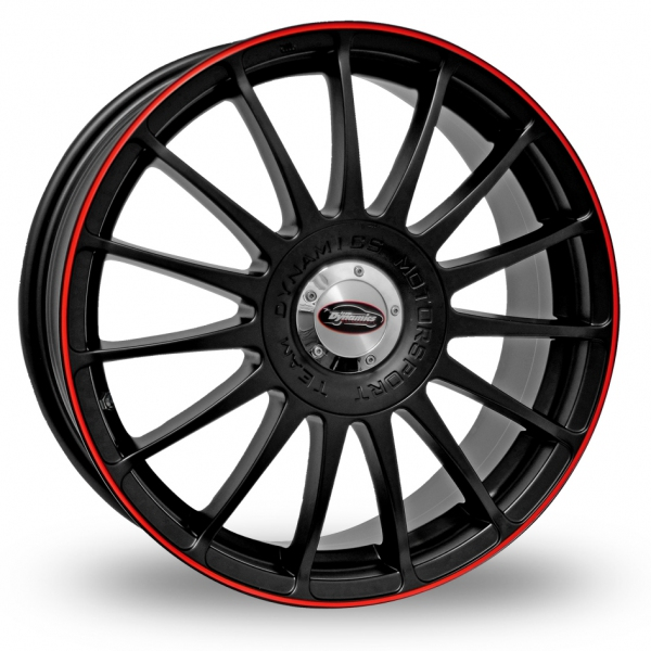 "Picture of 16"" Team Dynamics Monza RS Black/Red"