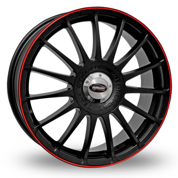 """Picture of 17"""" Team Dynamics Monza RS Black/Red"""
