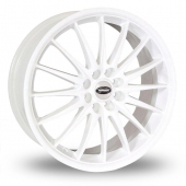 Team Dynamics Jet White Alloy Wheels