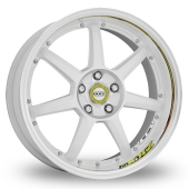 Dotz Fast Seven Drift White Polished Alloy Wheels