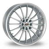 JET SILVER Alloy Wheels