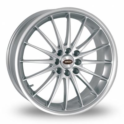 15 Inch Team Dynamics Jet Silver Alloy Wheels