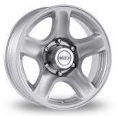 Dotz Hammada Silver Alloy Wheels