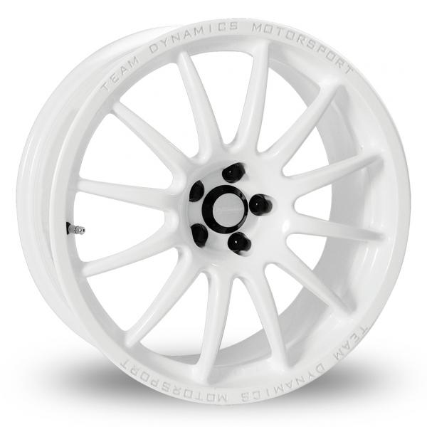 "15"" Team Dynamics Pro Race 1.2 White Alloy Wheels"