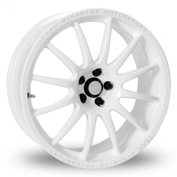 "16"" Team Dynamics Pro Race 1.2 White Alloy Wheels"