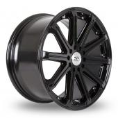 BK Racing 509 Black Alloy Wheels