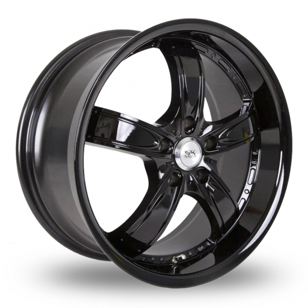 "Picture of 17"" BK 525 Black"