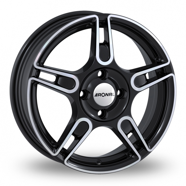 Ronal R52 Black Polished