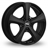 MSW (by OZ) 19 Matt Black Alloy Wheels