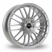 CW by Borbet CW4 Silver Alloy Wheels