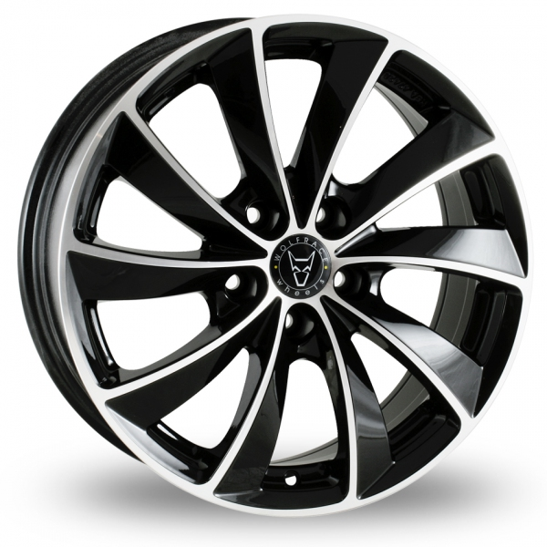 "Picture of 16"" Wolfrace Lugano Black"