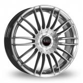 CW by Borbet CW3 Silver Alloy Wheels