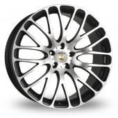 Calibre Altus Black Polished Alloy Wheels