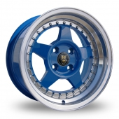 Cades Blast Blue Alloy Wheels