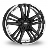 ATS Prazision Black Polished Alloy Wheels