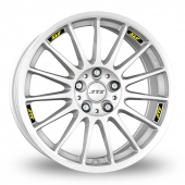 ATS StreetRallye White Alloy Wheels