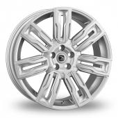 Hawke Hermes Silver Alloy Wheels