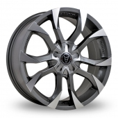ASSASSIN GUN METAL Alloy Wheels