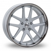 Zito Deepstar Silver Alloy Wheels