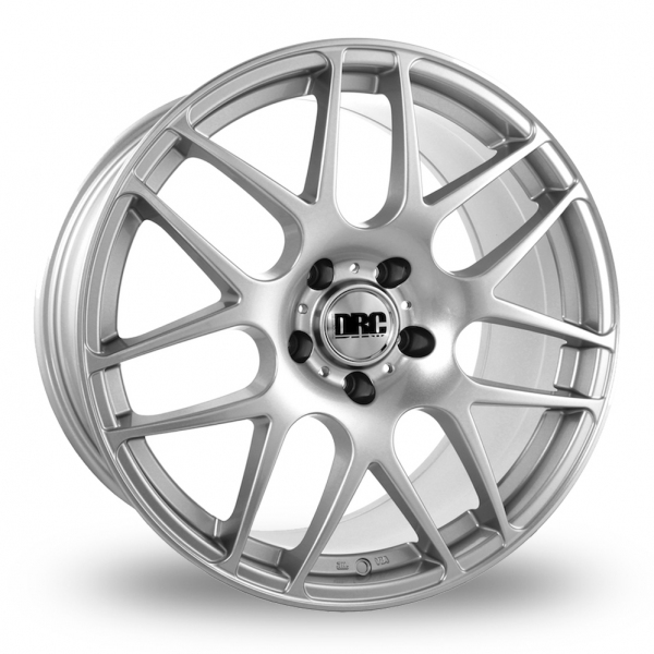 18 Inch DRC DRM Silver Alloy Wheels