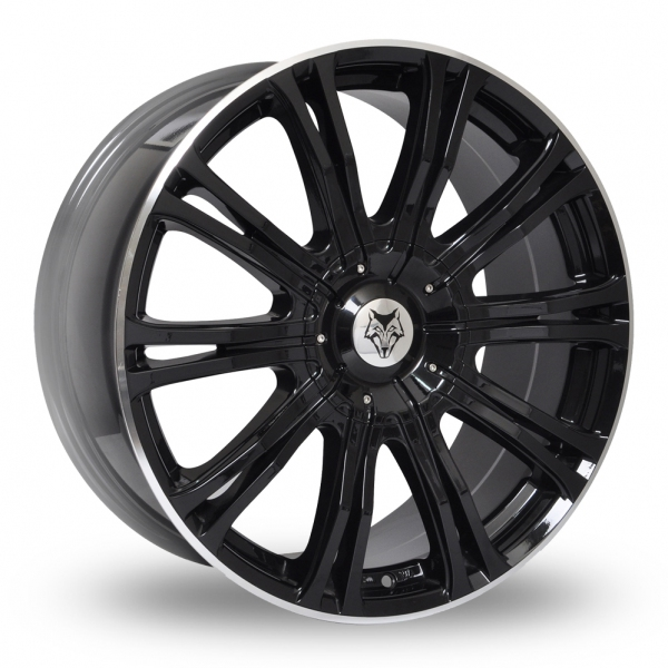 "Picture of 20"" Wolf Design Vermont Sport Black/Polished Lip"
